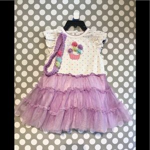 Toddler Dress with tutu skirt
